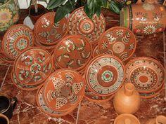 Блог Олени Щербань (Лены Солнце): Сучасний опішнянський глиняний посуд / Modern opishnyanski pottery