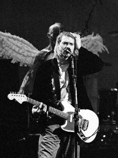 Kurt Cobain of Nirvana Scott Weiland, Eddie Vedder, Rock And Roll, Lady Gaga, Mtv Live, Music Rock, Donald Cobain, Nirvana Kurt Cobain, Nirvana Band