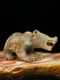 Bear history fetish zuni