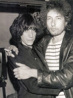 Patti Smith and Bob Dylan