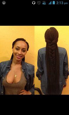 Ms. keri hilson with the box braids by Dr. Kari...cute!