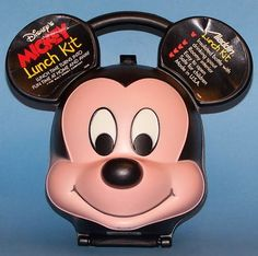 MICKEY MOUSE LUNCHBOX VINTAGE  I wonder what one of these is worth these days. i had the minnie one!!!!! -Nicky S