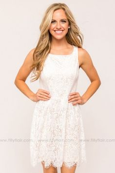 With Style and Grace Dress in Ivory