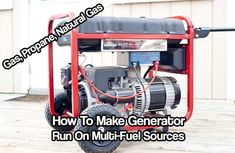 Multi-Fuel Generator - Gas Propane NG: 12 Steps (with Pictures) Propane Generator, Portable Generator, Power Generator, Emergency Generator, Camping Survival, Survival Prepping, Emergency Preparedness, Doomsday Prepping, Emergency Preparation
