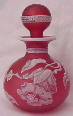 Richard W Bell English Cameo Scent Bottle Circa 1900 ~ Ʀεƥɪאאεð вƴ ╭