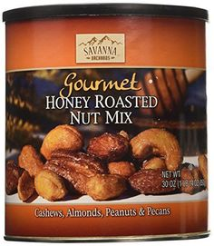 Savanna Orchards Gourmet Honey Roasted Nut Mix 30 oz Can -- Be sure to check out this awesome product.