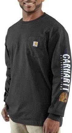 Carhartt 100015 Men's Impact Logo Long-Sleeve « Impulse Clothes