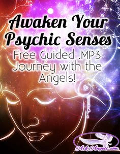 Awaken Your Psychic Senses With Archangel Raziel...   Click to Listen to this Free Guided Journey with the Angels!