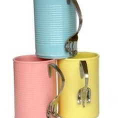 ... Cans Crafts on Pinterest | Tin cans, Tin can crafts and Pencil holders