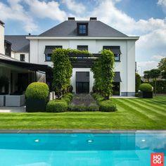 Rotterdam op zijn mooist - Hoog ■ Exclusieve woon- en tuin inspiratie. Rotterdam, Pergola, Exterior, Mansions, House Styles, Outdoor Decor, Luxe Villa, Inspiration, Dutch