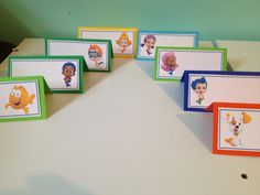Bubble Guppies Birthday Party Food Tents by NottsAndBows on Etsy, $6.00