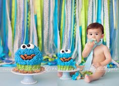 Image result for first birthday cake smash photo idea outdoors