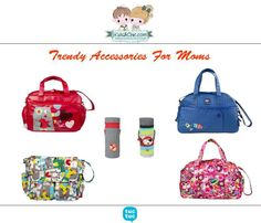 Trendy #accessories for #moms from #TucTuc. Baby bag and changing mat and baby bottle #thermobag.  #shoppingbarcelona #onlineshop