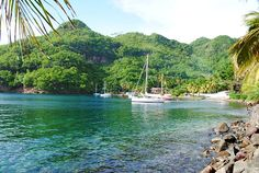 Wallilabou Bay, St Vincent and the Grenadines. #Caribbean