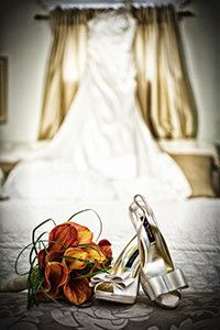 Wedding Dress and shoes | Magical Touch Photo & Video - New York