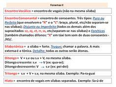 1.13 Fonologia - Resumo Fonemas 2