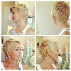 Kandee Johnson- perfect short haircut