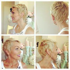 Kandee Johnson- perfect short haircut