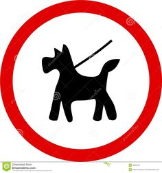 dogs on lead signs - Google Search