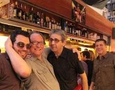 With Ryan McIlwraith, Juli Soler and Michael Chiarello at Pinotxo, La Boqueria, Barcelona. — with Ryan McIlwraith.