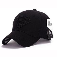 2015 Brand Superman Baseball Cap Unisex Adjustable Cotton Snapback Caps Men Sport Hats for Women Outdoor Sun Hat