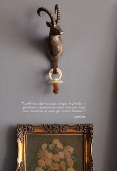 Decoração de: Detalhes; quadro antigo; Casa de Valentina