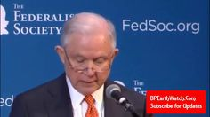 Breaking/AG Jeff Sessions Lays Down the Law..