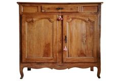 Antique French Cherrywood Sideboard
