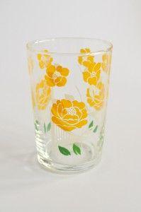 vintage glass -- swanky swigs