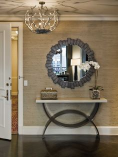round mirror for your living spaces. Reflect your life and be inspired by us! For more inspiration: @BRABBU http://brabbu.com