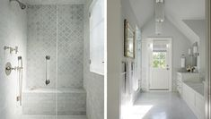 Fresh Sophistication - Morgan Harrison Home Budget Bathroom, Bathroom Ideas, Subway Tiles, Bathroom Inspiration, Bathtub, Shower Tiles, Fresh, Modern, Bathrooms