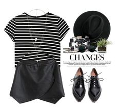 """""""- Parisian -"""" by lolgenie ❤ liked on Polyvore featuring Jeffrey Campbell, MANGO, Chanel and Threshold"""