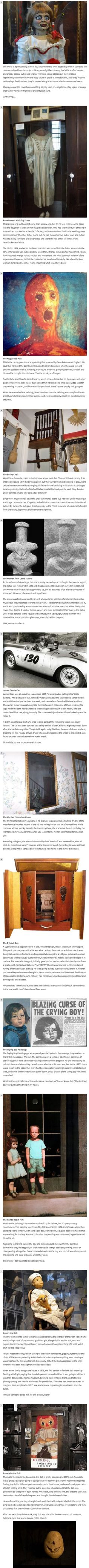 12 Most Haunted Objects In The World To Fuel Your Nightmares