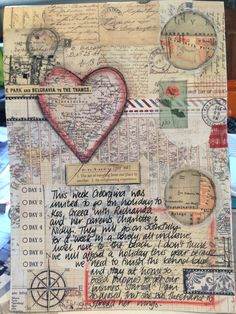 Travel art journal page | by TattyTrailer