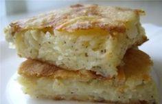 Placinta cu cartofi (Patatnic). Patatnic-ul este o reteta de placinta cu cartofi specific bulgareasca, mai precis ea provine din regiunea Rodopi. Iata ce ne trebuie pentru a prepara aceasta delicioasa placinta: