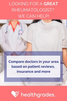 Search for top rated rheumatologists near you.