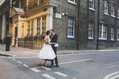 Quirky London City Wedding