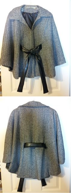 Christmas 2012 - Lady's poncho (Newlook#6007)