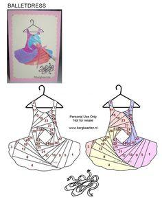Irisvouwen: Balletdress