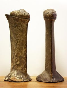 Venitian chopines were platform overshoes that were the pinnacle of 16th century fashion. Constructed with bases of cork or metal, and reaching heights up to 20 inches, chopines were worn by Venetian noblewomen as status symbols. Higher shoes indicated higher rank,