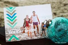 Our 'Festive Arrows' holiday card was the inspiration for this beautiful photo shoot!