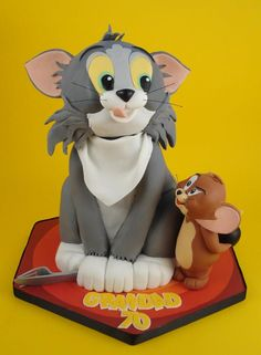 50 Best Tom And Jerry Cakes Images Tom And Jerry Cake Tom And Jerry Kids Cake