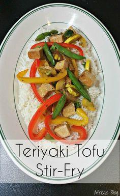 Easy to make Teriyaki Tofu Stir-Fry - a meal the entire family will LOVE!!  #Recipe @Nasoya   #Nasoya #Tofu #Vegan #Vegetarian   http://africasblog.com/2015/09/06/nasoya-teriyaki-stir-fry-recipe/