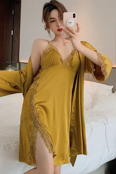 Belly Shirts, Unique Prom Dresses, Lingerie Outfits, Chinese Model, Lingerie Collection, Nightwear, Asian Woman, Night Gown, Lounge Wear