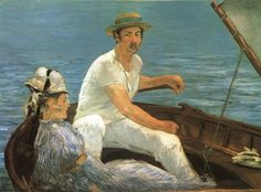 Boating by Eduard Manet #art