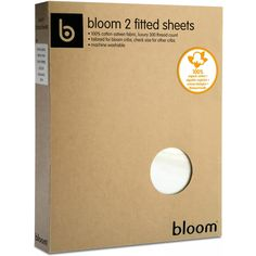 Bloom Alma Mini 2-Piece Fitted Sheet Set - Coconut White