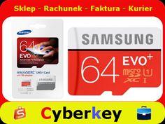 microSD 64GB Samsung EVO  Class 10  Adapter 80MB/s