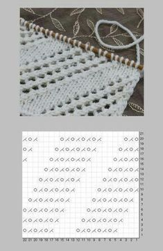 Most recent Absolutely Free knitting techniques different Style – Lace Knitting Patterns, Knitting Charts, Knitting Stitches, Free Knitting, Stitch Patterns, Easy Knitting Projects, Diy Couture, Knit Crochet, Knit Lace
