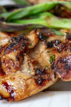 I love this Grilled Vietnamese Chicken in Pho, in rice/noodle bowls or in salads. The marinade permeates the chicken to make it succulent, distinctive and delicious. Easy Chicken Recipes, Turkey Recipes, Meat Recipes, Asian Recipes, Dinner Recipes, Cooking Recipes, Healthy Recipes, Asian Cooking, Gourmet