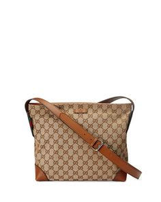 74ded782868f Original GG Canvas Messenger Bag, Brown by Gucci at Neiman Marcus. Neiman  Marcus,